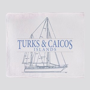 Turks and Caicos - Throw Blanket